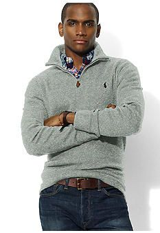 Polo Ralph Lauren Half-Zip Cotton Pullover
