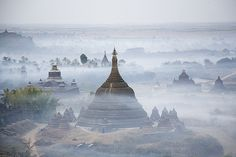 Mrauk-U, Rakhine, Myanmar was founded in 1430 AD and flourished till 1785 as recorded in its history. Known as the Golden City by foreign travelers of the era it was a focus of trade due to its strategic on the coastal region of Bay of Bengal.The Golden City of Mrauk-U became known in Europe as a city of oriental splendor after Friar Sebastian Manrique visited the area for about (8) years between 1629 to 1637 AD.