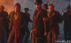 http://six.tc/serinin-yeni-oyunu-assassins-creed-syndicate-iin-sinematik-fragman-paylasildi/4792  Ubisoft Quebec tarafindan Marc-Alexis Côté direktörlügündeki programcilar ve tasarimcilar tarafindan AnvilNext oyun motoru üzerinde gelistirilen, Ubisoft etiketiyle de bu yil oyuncularin begenisine sunulmasi beklenen Assassin's Creed serisinin basli basina yayimlanacak dokuzuncu oyunu Assassin's Creed Syndicate için resmi hesaplardan sinematik bir fragman yayimlanmis b