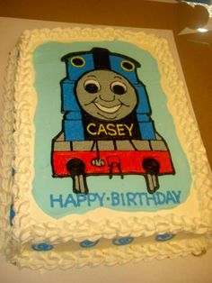 love this for a big sheet cake, but needs more color