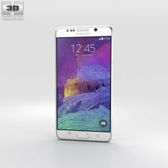 Samsung Galaxy Note 5 White Pearl 3D Model .max .c4d .obj .3ds .fbx .lwo .stl @3DExport.com by humster3D