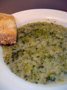 It came out very good. So good I am sending some to  a sister in faith,who is  under the weather.  I hope she enjoys it too! Cream of broccoli soup