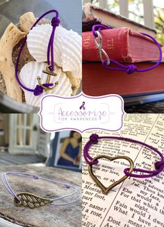 Accessorize for Awareness // A Campaign to shine light on Pancreatic Cancer