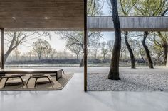 Gallery of Waterside Buddist Shrine / ARCHSTUDIO - 3