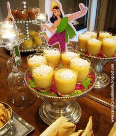 Mango Custard at a Thai Party