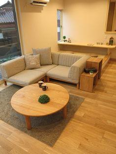 畳コーナーのあるリビング空間を活かしたソファの活用術をご紹介します! の画像|家具なび ~きっと家具から始まる家づくり~