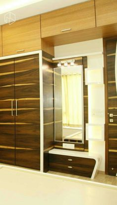 Wardrobe Design In Bedroom Provisioning Dressing Table GharExpert - Bedroom designs with dressing room