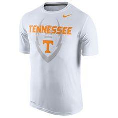 Tennessee Volunteers Nike Legend Football Icon T-Shirt - Gray