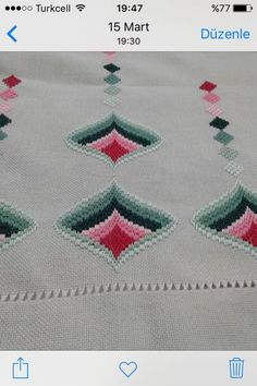 This Pin was discovered by Ani Embroidery Patterns, Cross Stitch Patterns, Machine Embroidery, Broderie Bargello, Swedish Weaving, Fashion Sketches, Needlepoint, Needlework, Diy And Crafts