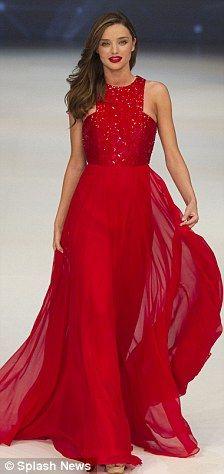 Scarlet Red Dress - RP Dress