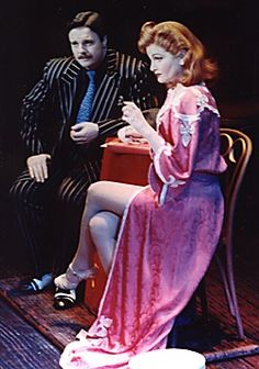Guys And Dolls 1992 production.  Nathan Lane as Nathan Detroit, and Faith Prince as Adelaide.  <3