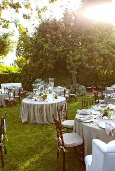 luxe + lillies: Anniversary party in the back yard