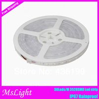 Hot-sales ! Led Light Strip 12V 150 SMD Silicon Tube 3528 SMD Led Strip Waterproof IP67 Warm White / White /Blue/Green 5M/Lots