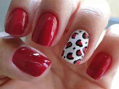 Um charme a mais para combinar com o vermelho que tanto amamos!!! Tudo para suas unhas em: www.lojadeesmaltes.com.br