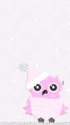 ideas for wall paper fofos femininos coruja Owl Wallpaper, Winter Wallpaper, Holiday Wallpaper, Locked Wallpaper, Wallpaper Backgrounds, Iphone Wallpapers, Phone Backgrounds, Christmas Illustration, Illustration Art