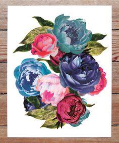 This Rocker Flowers Print is perfect! #zulilyfinds