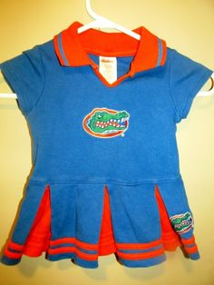 1c00f987a32 Florida Gators Cheerleader outfit , Toddler 2T - College-NCAA