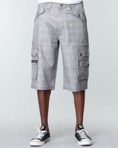 Cool cargo shorts for HIM, by Pelle Pelle. #shorts #spring #men