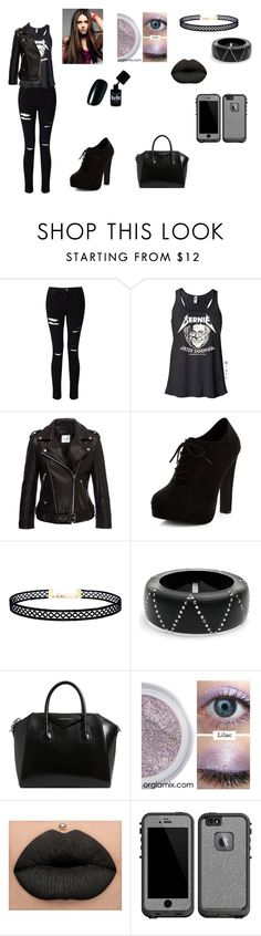 """Untitled #86"" by brookelyn96 on Polyvore featuring Miss Selfridge, Anine Bing, New Look, LULUS, Alexis Bittar, Givenchy and LifeProof"