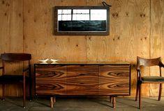 "Palo Samko - Woodworker / furniture / Storage / 72"" rosewood credenza"