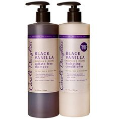 Natural Hair Care, Natural Beauty Products, Natural Skincare - Carol's Daughter - Black Vanilla Moisturizing Hair Duo