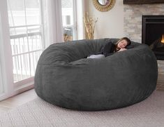 The Chill Bag is filled with an original and comfortable furniture grade memory foam blend.