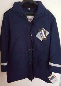 Blauer GoreTex Jacket Size XL Law Enforcement B.WARM® Liner Mass Buttons 9030