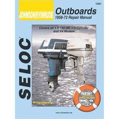 Seloc Service Manual - Johnson Evinrude Outboards - 1958-1972 - 1.5-125 Hp, 1-3 Cylinder & V4 - https://www.boatpartsforless.com/shop/seloc-service-manual-johnson-evinrude-outboards-1958-1972-1-5-125-hp-1-3-cylinder-v4/