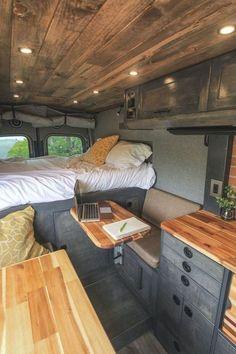 Home Design, Tiny House Design, Design Ideas, Design Design, Tiny Camper, Camper Van, Camper Renovation, Home Renovation, Motorhome