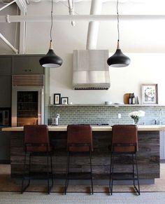 Arredo stile industriale - Cucina in stile industriale