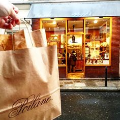 The best bread in Paris!  So worth a stop!  Poilane is the queen of bread.