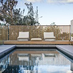 Gordon's Bay House by Madeleine Blanchfield Architects Outside Living, Outdoor Living, Moderne Pools, Interior Styling, Interior Design, Luxury Pools, House Landscape, Outdoor Furniture Sets, Outdoor Decor