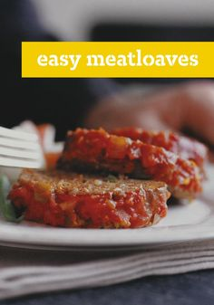 Easy Meatloaves – Make moist, delicious meatloaf easily with the flavors your family loves moat. Tap into your many stuffing, sauce and seasoning combos to find one that works for your crowd.