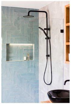 Small Bathroom, Master Bathroom, Upstairs Bathrooms, Blue Bathroom Tiles, Bathroom Feature Wall Tile, Colourful Bathroom Tiles, Modern Bathroom Tile, Blue Tiles, Bathroom Colors