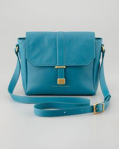 Mini Messenger Bag in Teal
