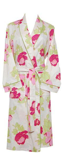 Bedhead Ivory Afternoon Primrose Robe