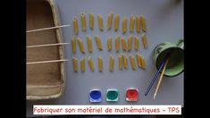 Fabriquer son matériel de mathématiques - Toute Petite Section Petite Section, Lectures, Cookie Cutters, Nursery Rhymes, Preschool, Small Sectional, Activities For Kids
