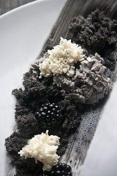 Bizcocho de Sesamo Negro / Black Sesame Sponge