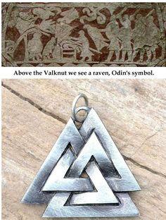Valknut Viking symbol
