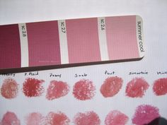 Everyday Beauty: Lipstick Comparisons: Pinks