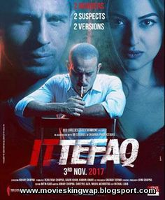 "Ittefaq Official Poster ""Ittefaq"" is an Indian mystery-thriller film. This movie was directed by Abhay Chopra and produced by . Movies To Watch Online, Movies To Watch Free, Good Movies, Movies Free, Movies 2017 Download, Free Movie Downloads, Bollywood Posters, Bollywood Cinema, Bollywood News"