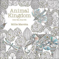 Animal Kingdom: Color Me, Draw Me (A Millie Marotta Adult Coloring Book) by Millie Marotta http://smile.amazon.com/dp/1454709103/ref=cm_sw_r_pi_dp_9Vpcxb0ZY4D9N