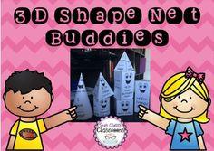 3D Shape Nets - Cute Buddies