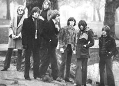 British mod/psych band The Alan Bown Set circa 1967.