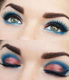 Sguardo intenso con sfumature sul blu. Scopri come ricrearlo con la nuova palette Dior => http://www.youglamour.it/dior-makeup-bird-of-paradise-collezione-pe-2013/