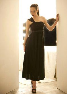 Korean Dress Black Korean Fashion Dress, Korean Dress, Fashion Dresses, Dress Black, Formal Dresses, Fashion Show Dresses, Dresses For Formal, Trendy Dresses, Formal Gowns