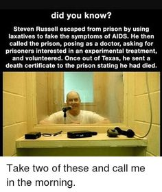 How could he call from inside the prison?