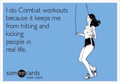 So true! Favourite class of the week! Body Combat