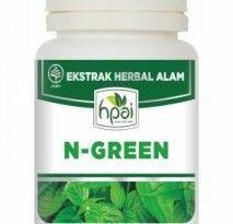 Jual N-Green agen stokis resmi HPAI, produk herbal N-Green harga murah standar HPA Indonesia di http://www.agenhpai.com/n-green.html