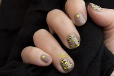 Nude neon animal print by Vilcis.